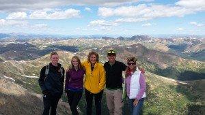 Hiking Grays and Torreys Peak