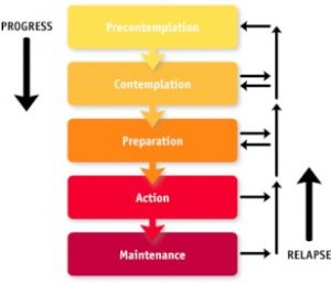 Transtheoretical model of behavior change
