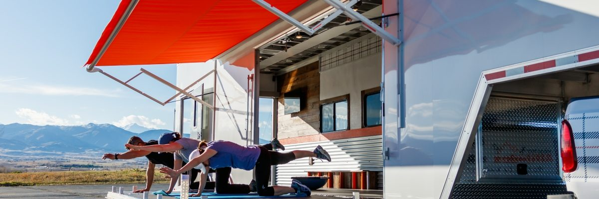 The Movable Studio at Healthy Altitudes Fitness Anywhere